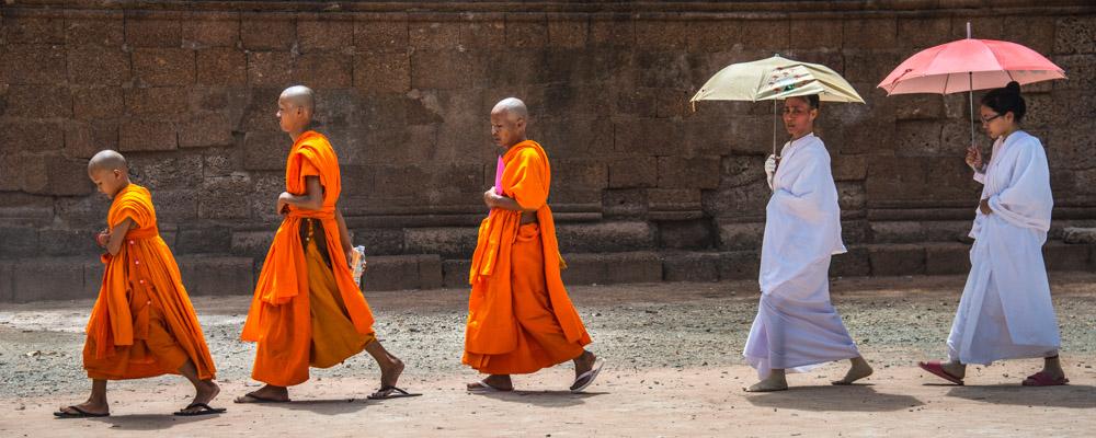 Moines à Ta Phrom