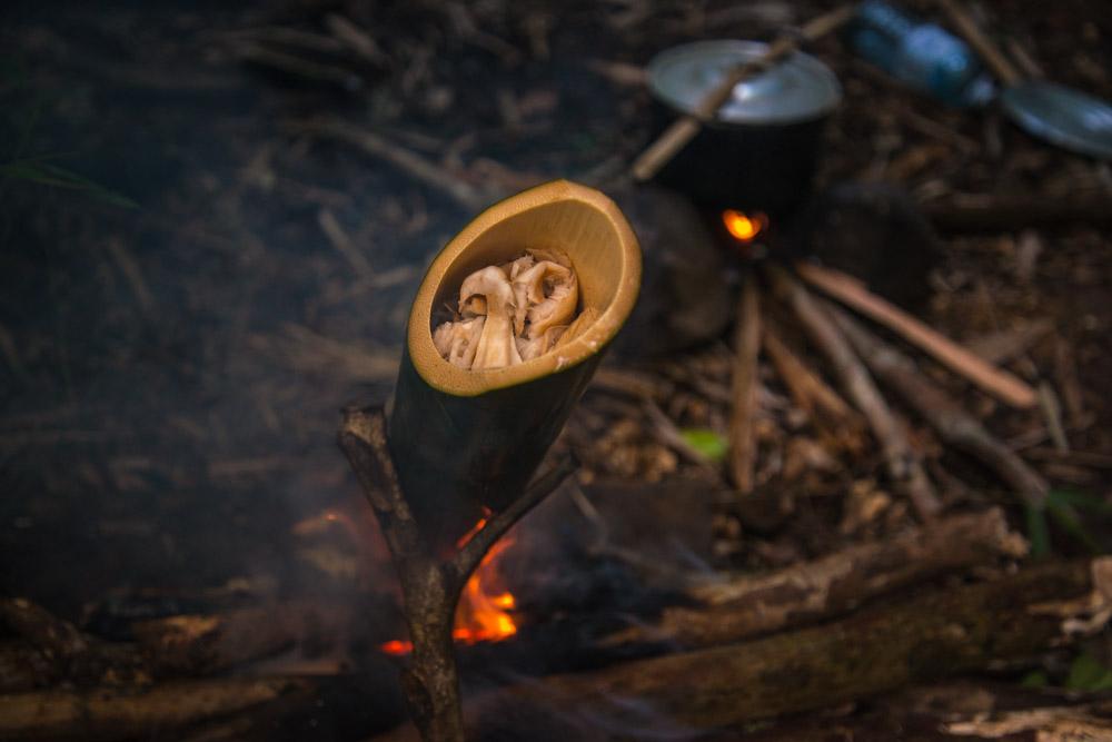 Cuisine au bambou