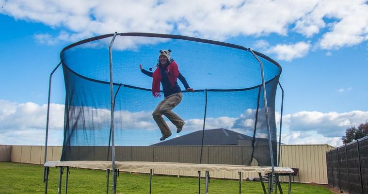 Illustration de ces petites choses que j'ai aimées en Australie : le trampoline