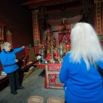 Visite du temple chinois de Bendigo