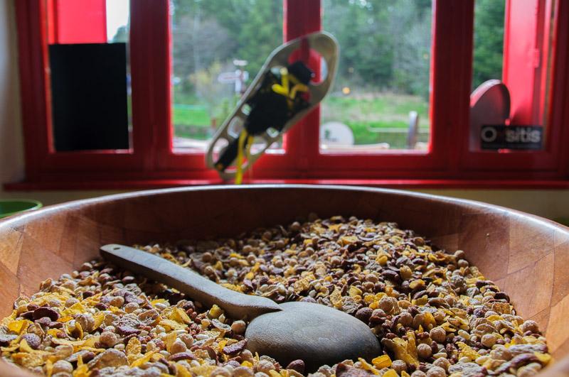 Le petit déjeuner au gîte des Servières © Michel Dvorak / Du Monde au Tournant