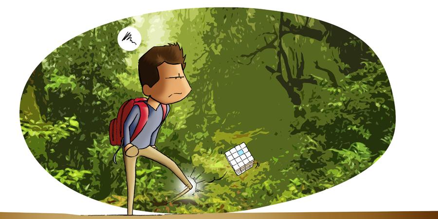 Du Monde au tournant en voyage et Softibox / Illustration : Amphibian Drawings