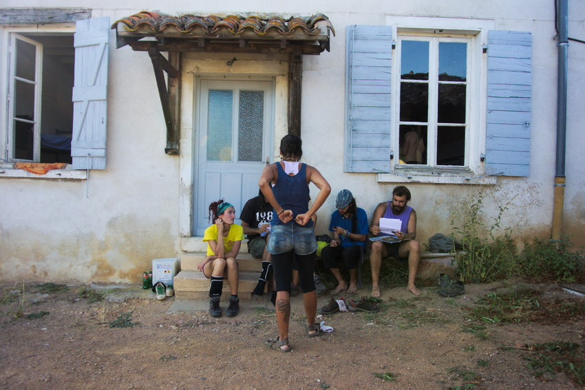 le logement pour les vendangeurs, château Pierreux, Odenas
