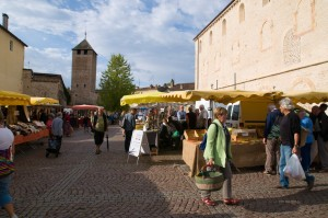 le marché de Cluny chaque samedi