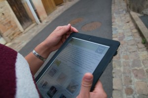 Réalité augmentée avec des tablettes, Cluny