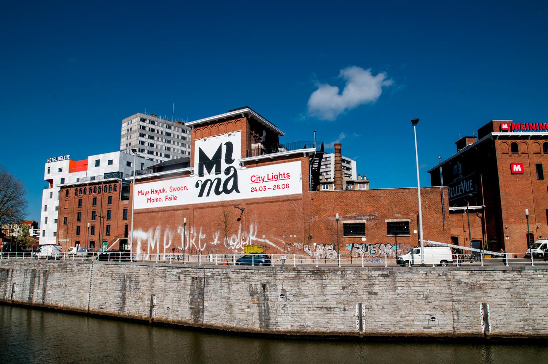 Le musée MIMA, quai du Hainaut à Bruxelles