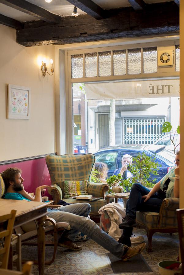 Salon de thé Liber à Bruxelles