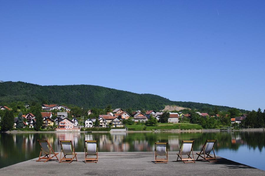 Ogulin - le lac