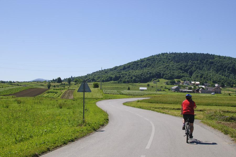 Ogulin à vélo