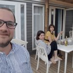 La terrasse - camping Sanaday Tamaris