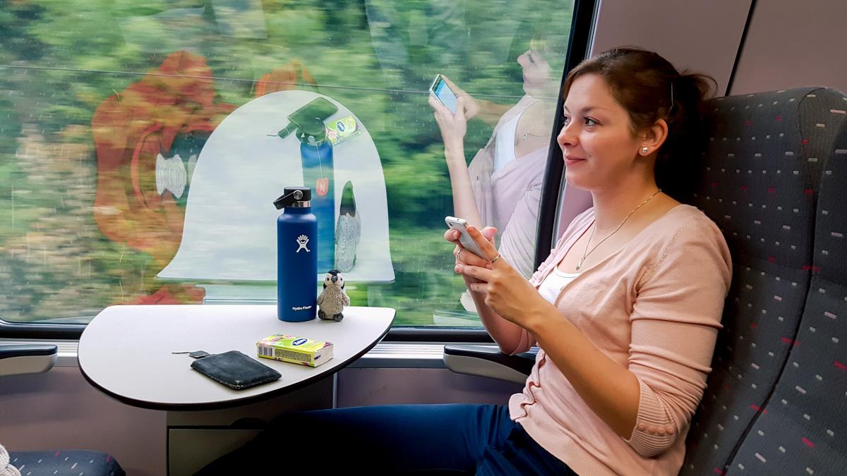 Le train entre Bruxelles et Silly